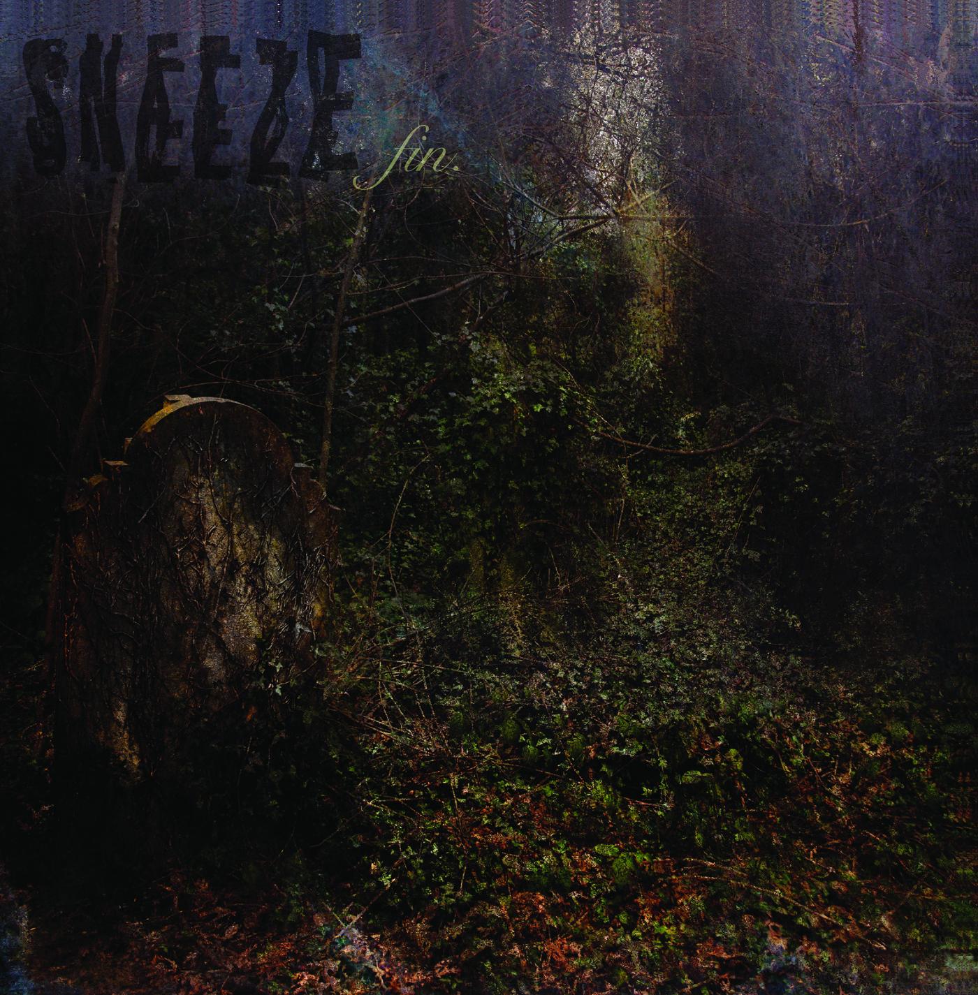 PRE-ORDER*** Sneeze - fin  LP (coke-bottle clear) - $12 00